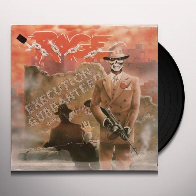 Rage EXECUTION GUARANTEED Vinyl Record