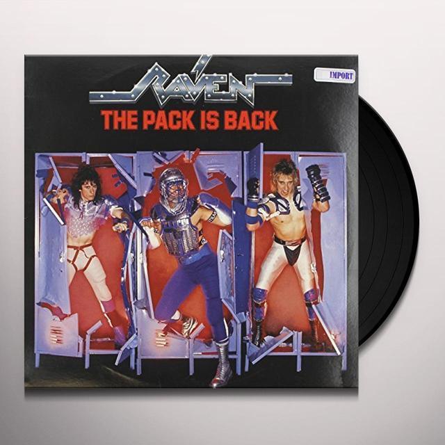 Raven PACK IS BACK Vinyl Record