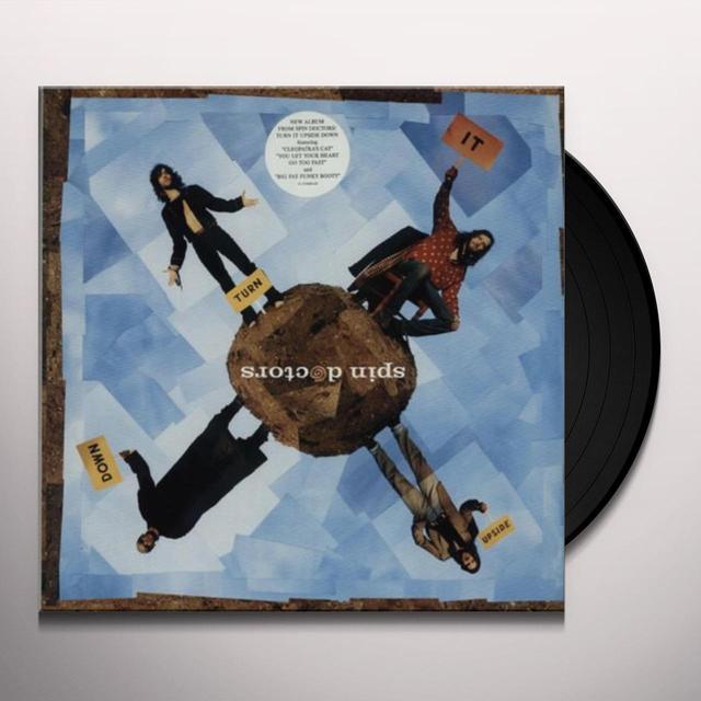 Spin Doctors TURN IT UPSIDE DOWN Vinyl Record - Gatefold Sleeve