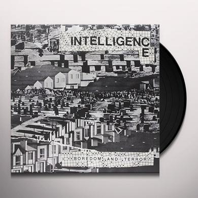Intelligence BOREDOM & TERROR / LETS TOIL Vinyl Record