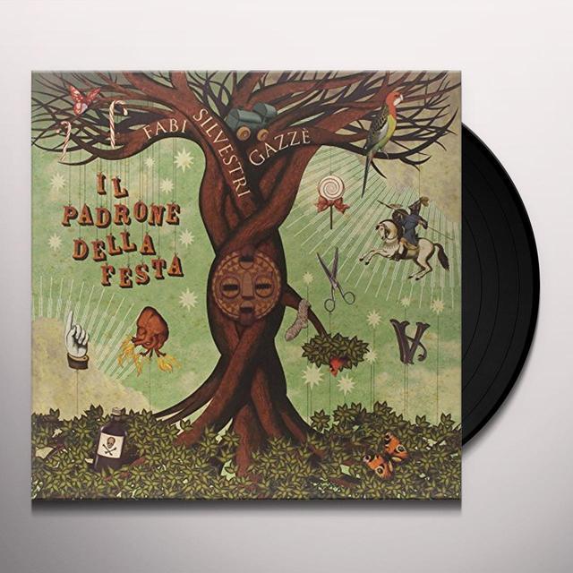 Fabi Silvestri Gazzè IL PADRONE DELLA FESTA (GER) Vinyl Record