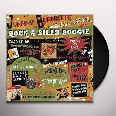 Johnny Burnette ROCK A BILLY BOOGIE Vinyl Record - UK Import