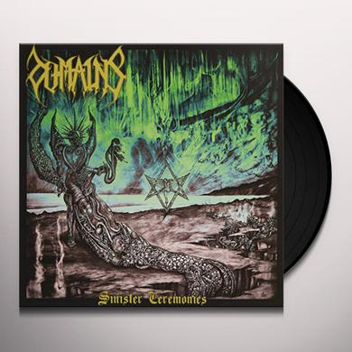 DOMAINS SINISTER CEREMONIES Vinyl Record
