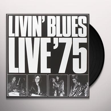 LIVIN' BLUES LIVE '75 Vinyl Record