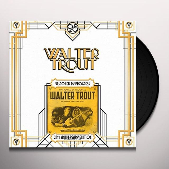 Walter Trout UNSPOILED BY PROGRESS Vinyl Record - UK Import