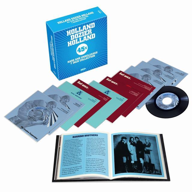 HOLLAND-DOZIER-HOLLAND RARE 45S VINYL BOX Vinyl Record