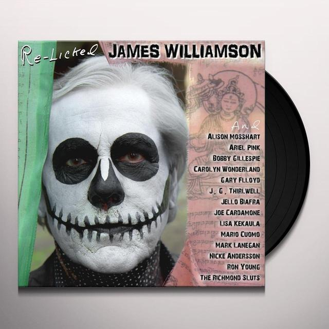 James Williamson RE-LICKED Vinyl Record