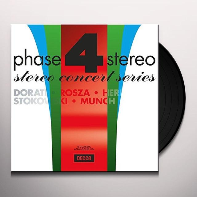PHASE FOUR STEREO CONCERT SERIES / VARIOUS (LTD) PHASE FOUR STEREO CONCERT SERIES / VARIOUS Vinyl Record - Limited Edition