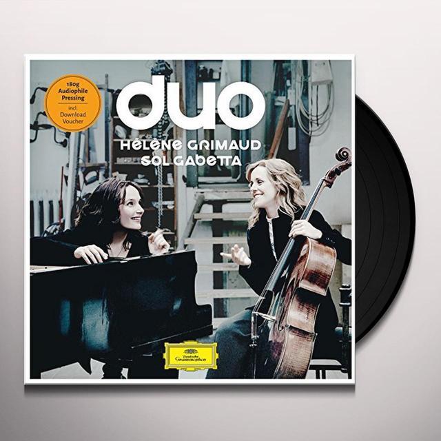 GRIMAUD / GABETTA DUO (SCHUMANN/DEBUSSY/SHOSTAKOVICH/BRAHMS) Vinyl Record - Limited Edition