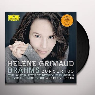 GRIMAUD / NELSONS / WIENER PHILHARMONIKER BRAHMS CONCERTOS (PIANO CTOS NOS 1 & 2) Vinyl Record