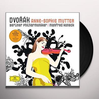 DVORAK / MUTTER / HONECK / BERLINER PHILHARMONIKER VIOLIN CONCERTO Vinyl Record - Limited Edition
