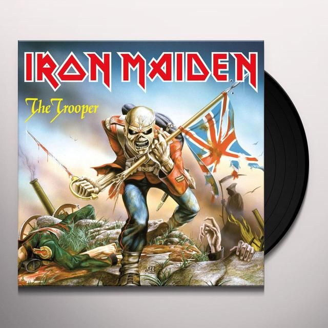 Iron Maiden TROOPER Vinyl Record - Limited Edition