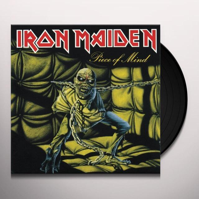 Iron Maiden PIECE OF MIND Vinyl Record