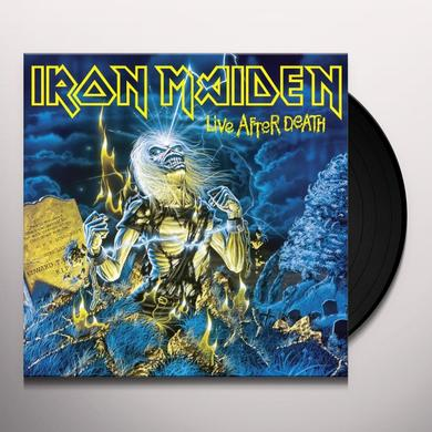 Iron Maiden LIVE AFTER DEATH Vinyl Record