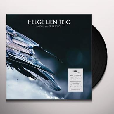 Helge Lien BADGERS & OTHER BEINGS Vinyl Record - Gatefold Sleeve