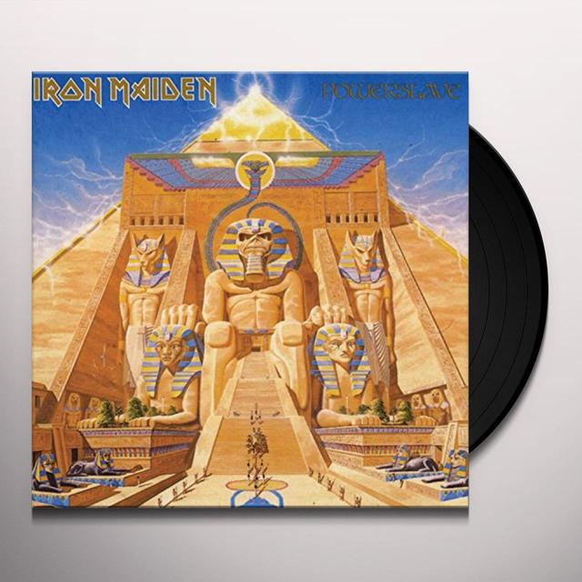 Iron Maiden POWERSLAVE Vinyl Record
