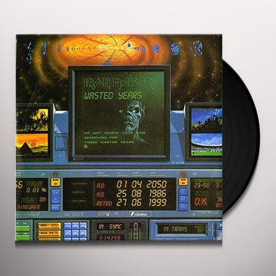 Iron Maiden WASTED YEARS Vinyl Record - Limited Edition