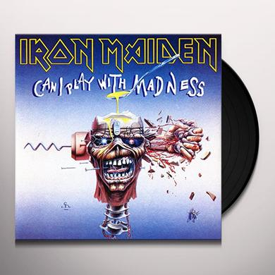 Iron Maiden CAN I PLAY WITH MADNESS Vinyl Record - Limited Edition