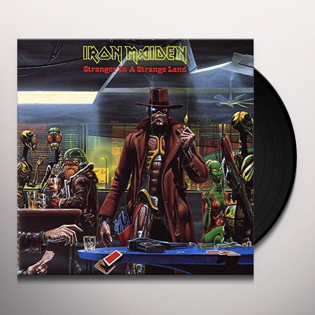 Iron Maiden STRANGER IN A STRANGE LAND Vinyl Record - Limited Edition