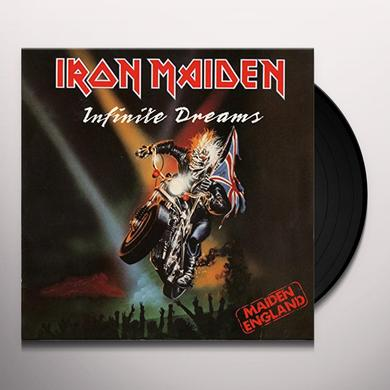 Iron Maiden INFINITE DREAMS Vinyl Record - Limited Edition