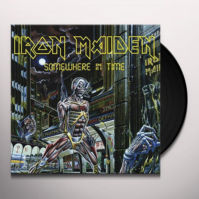 Iron Maiden SOMEWHERE IN TIME Vinyl Record