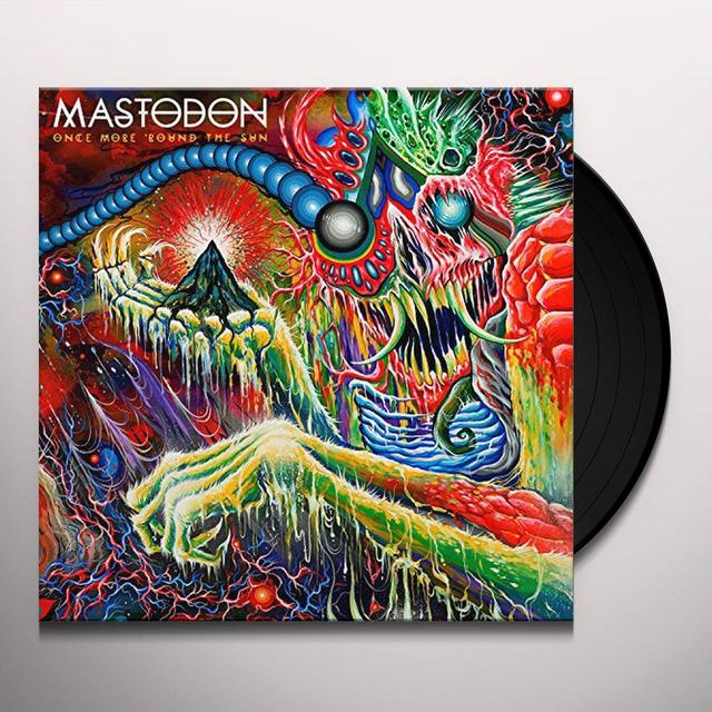 Mastodon ONCE MORE ROUND THE SUN (BONUS CD) Vinyl Record - Limited Edition, 180 Gram Pressing
