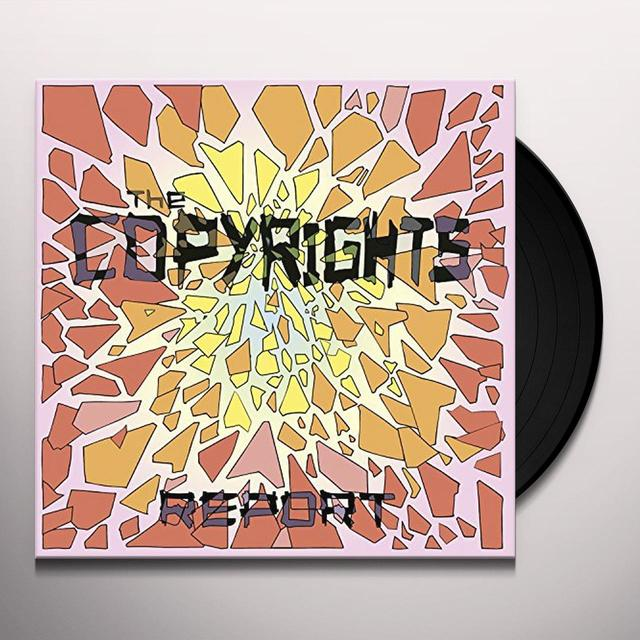The Copyrights REPORT Vinyl Record