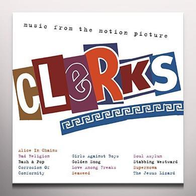 CLERKS O.S.T. / VARIOUS (ANIV) (OGV) CLERKS O.S.T. / VARIOUS Vinyl Record - Black Vinyl, Clear Vinyl, 180 Gram Pressing, Anniversary Edition
