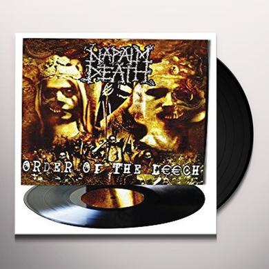 Napalm Death ORDER OF THE LEECH Vinyl Record