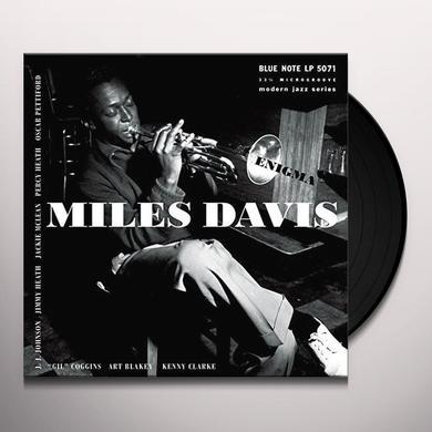 Miles Davis ENIGMA Vinyl Record - 10 Inch Single