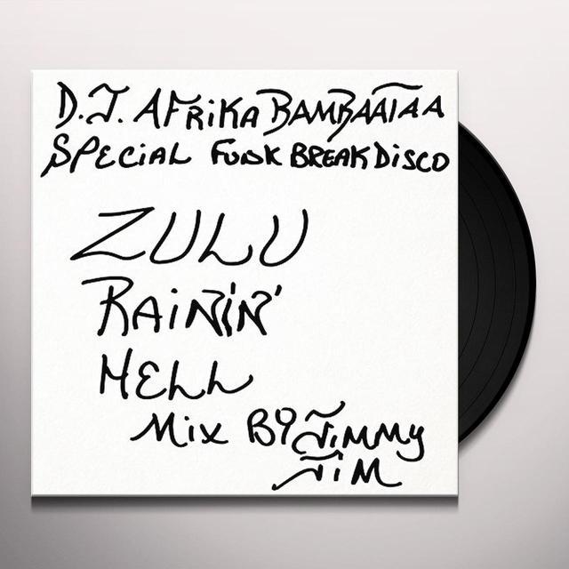 JIMMY JIM ZULU RAIN HELL MIX Vinyl Record