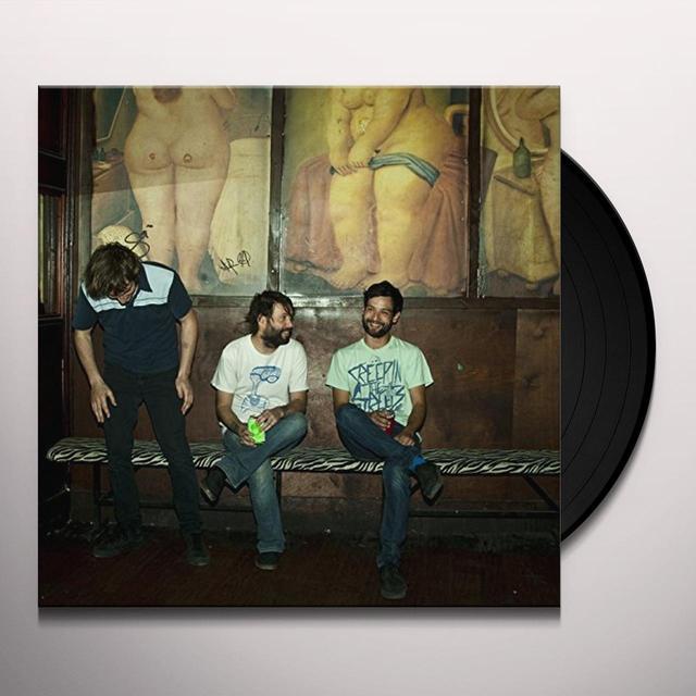 Spray Paint CUSSIN Vinyl Record