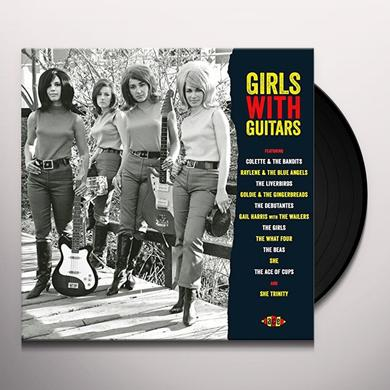 GIRLS WITH GUITARS / VARIOUS (UK) GIRLS WITH GUITARS / VARIOUS Vinyl Record - UK Import