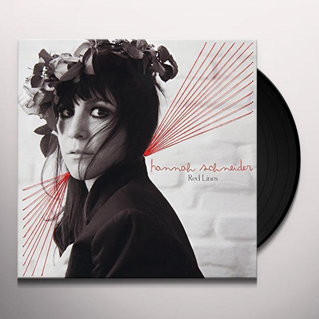 Hannah Schneider RED LINES Vinyl Record