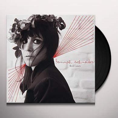 Hannah Schneider RED LINES Vinyl Record - UK Import