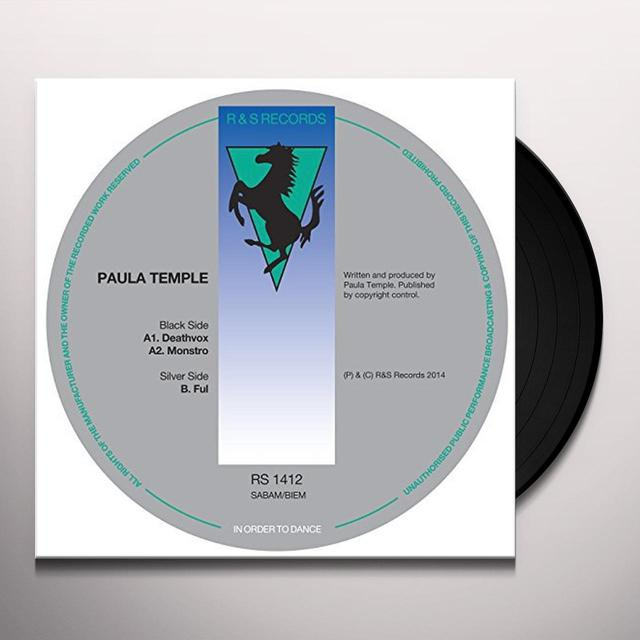 Paula Temple DEATHVOX Vinyl Record - UK Release