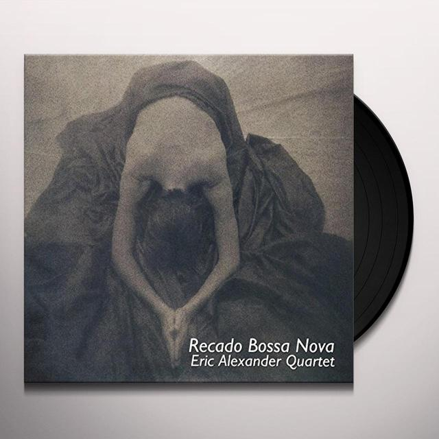 Eric Alexander RECADO BOSSA NOVA Vinyl Record - Japan Release