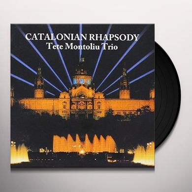 Tete Montoliu CATALONIAN RHAPSODY Vinyl Record - Japan Import