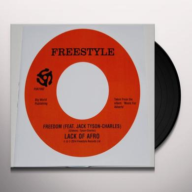 Lack Of Afro FREEDOM Vinyl Record
