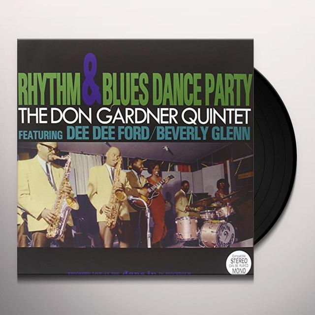 DON GARDNER QUINTET RHYTHM & BLUES DANCE PARTY Vinyl Record - UK Import