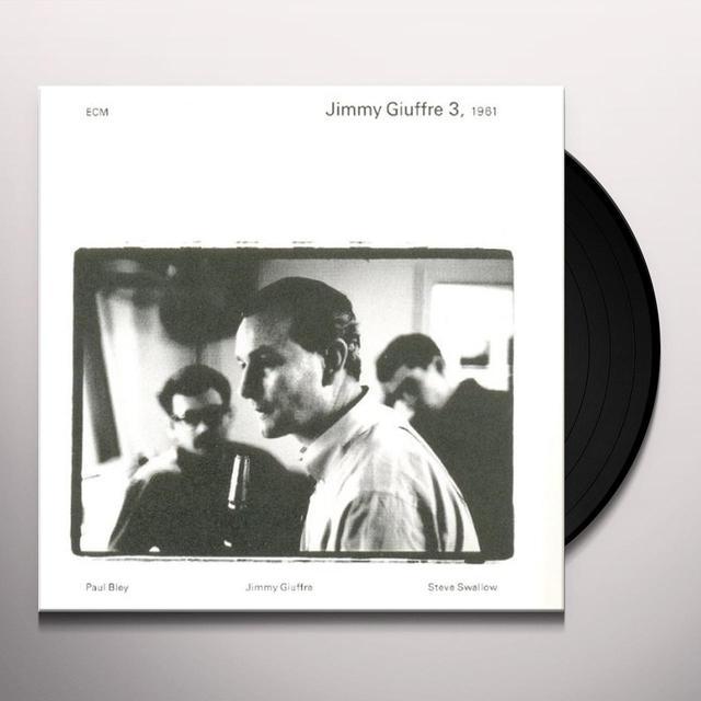 JIMMY GIUFFRE 3 1961 Vinyl Record