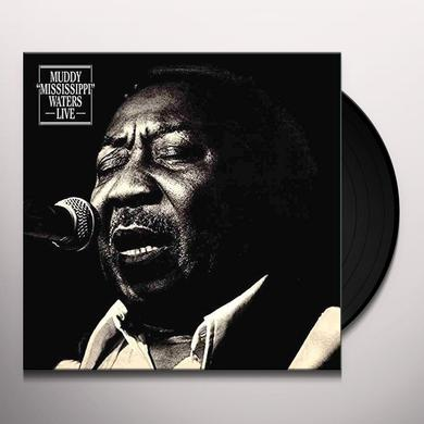 Muddy Waters LIVE Vinyl Record