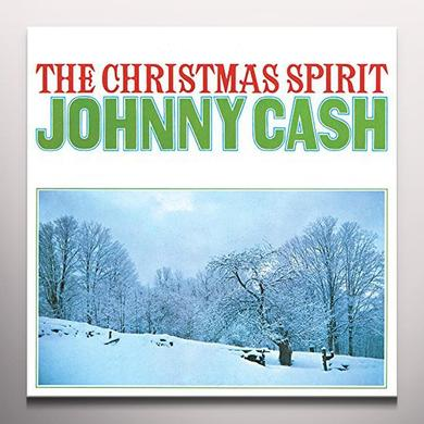 Johnny Cash CHRISTMAS SPIRIT Vinyl Record - Colored Vinyl, Gatefold Sleeve, Limited Edition, 180 Gram Pressing, Anniversary Edition