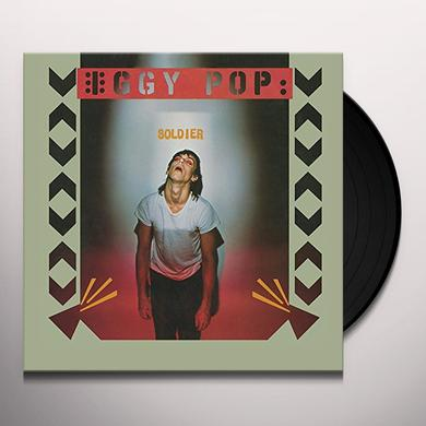 Iggy Pop SOLDIER Vinyl Record - Gatefold Sleeve, Limited Edition, 180 Gram Pressing