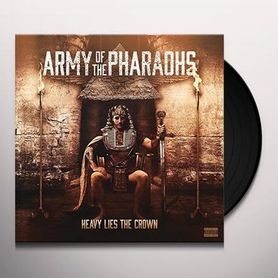 Army Of The Pharoahs HEAVY LIES THE CROWN Vinyl Record