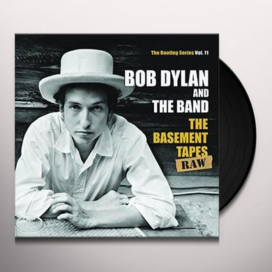 Bob Dylan BASEMENT TAPES RAW: THE BOOTLEG SERIES 11 Vinyl Record - w/CD