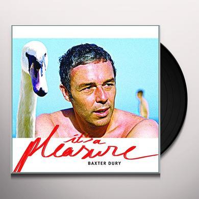 Baxter Dury IT'S A PLEASURE Vinyl Record