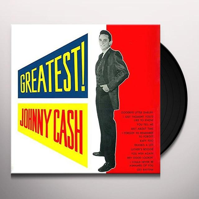 Johnny Cash GREATEST Vinyl Record