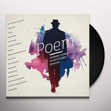 POEM-LEONARD COHEN IN DEUTSCHER SPRACH / VARIOUS Vinyl Record