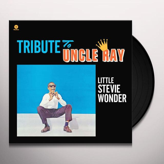 Stevie Wonder TRIBUTE TO UNCLE RAY Vinyl Record - Spain Import
